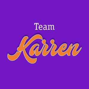 Fundraising Page: Team Karren
